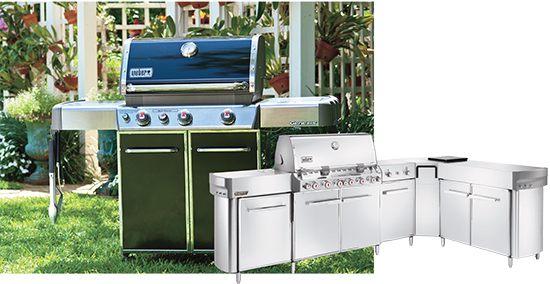 Weber product line