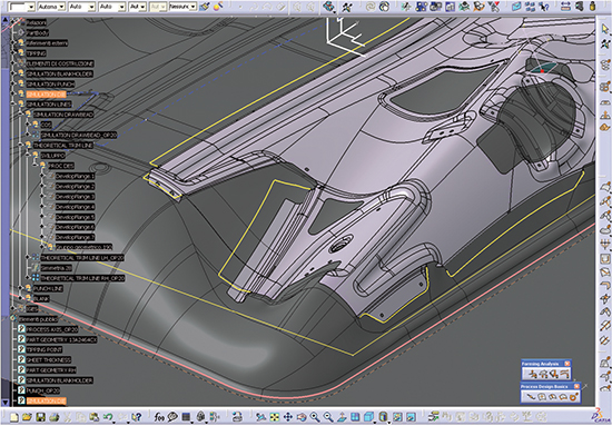 Among the features of AutoForm-ProcessDesignerforCatia is the ability to easily and accurately compute developed flanges.