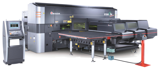 Punch/Fiber-Laser Combination Machine Amada