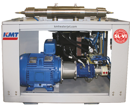 KMT Waterjet waterjet pumps