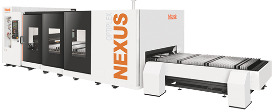 Mazak Optonics CO2 laser cutting systems