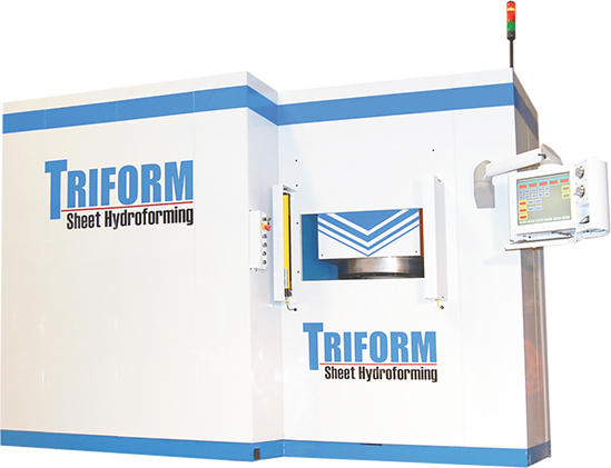 deep-draw sheet hydroforming press Beckwood