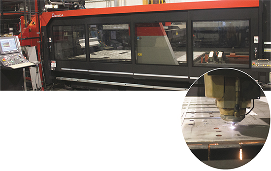 Amada FOM2 rotary index 3015 machine