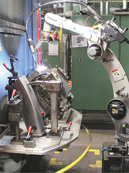 robotic-welding cell