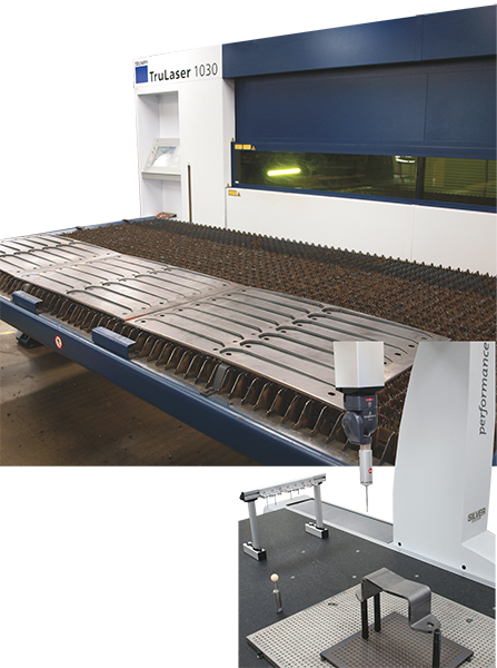 3000-W fiber-laser cutting machine