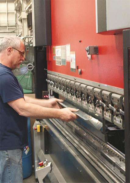 Amada servo hydraulic press brake