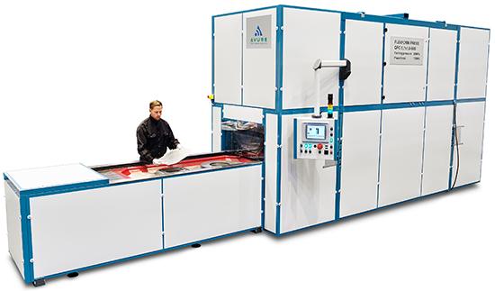 Avure fluid-cell press