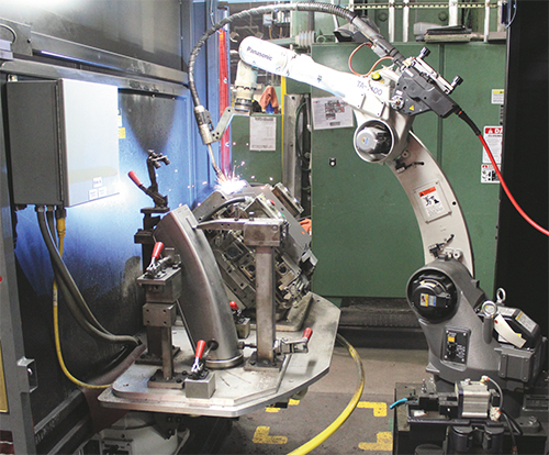 Articles Robotic Welding Cellsout With The Old