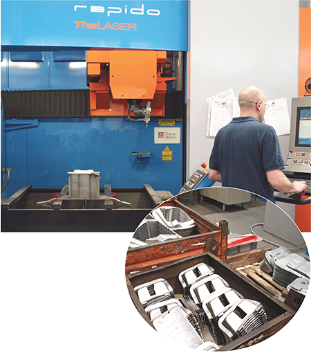 Coprauto, a prototype/production metalforming and fabricating job shop
