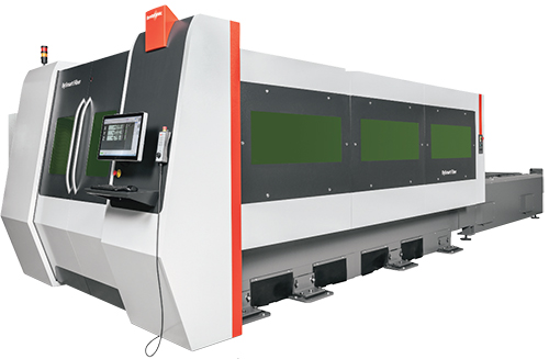 Bystronic BySmart Fiber 3015 fiber-laser cutting machine