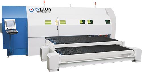 Cy Laser side loading fiber laser