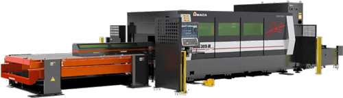Amada Ensis-3015AJ fiber laser machine