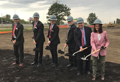 Bystronic new facility groundbreaking ceremony