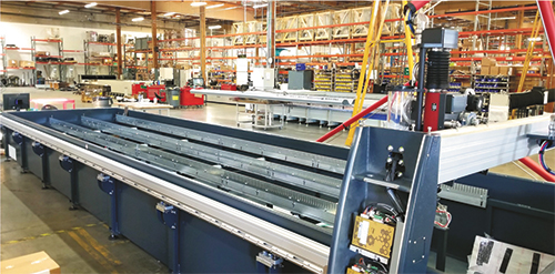 waterjet cutting machine Omax