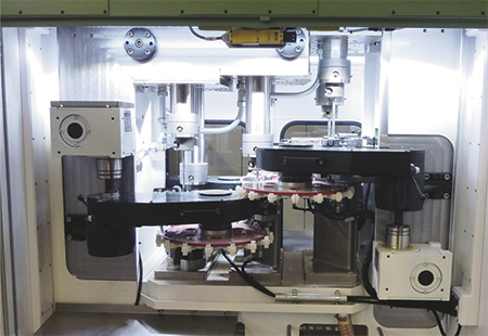 machinery allows rapid production of tubular parts