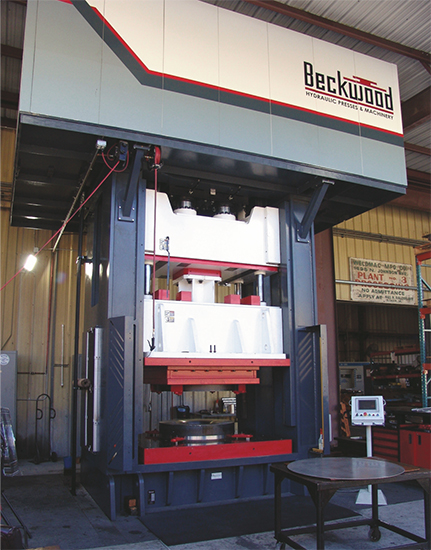 Beckwood Press hydraulic press