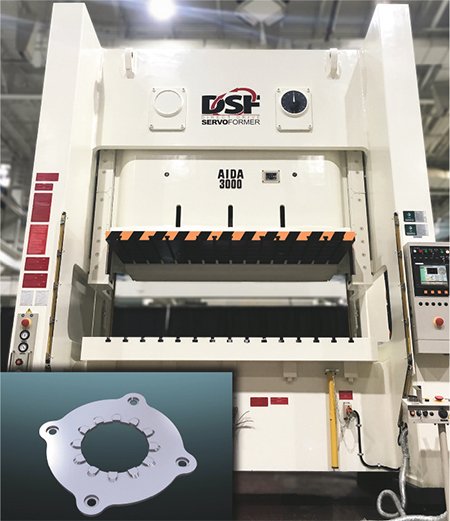 Aida America direct-direct servo press