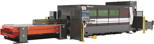 Amada America Ensis-3015AJ fiber laser machine