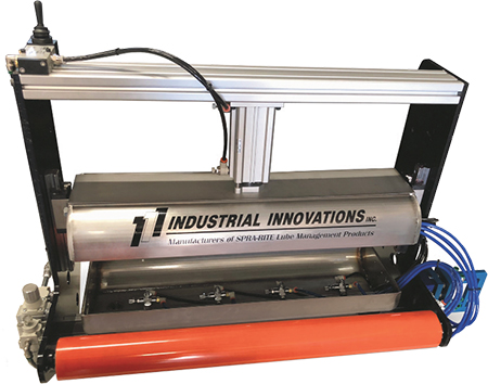 Industrial Innovations coil-lubricating system