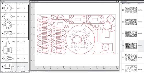 Previews - Intuitive CAD/CAM Nesting Software   MetalForming