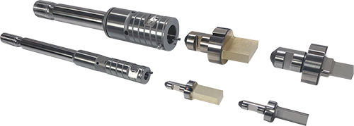 Mate Precision Tooling A and B station punch drivers
