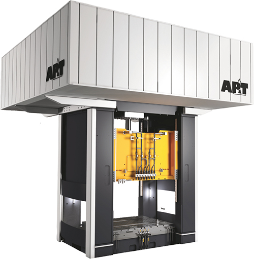 AP&T servo hydraulic press