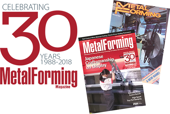 3o years MetalForming magazine