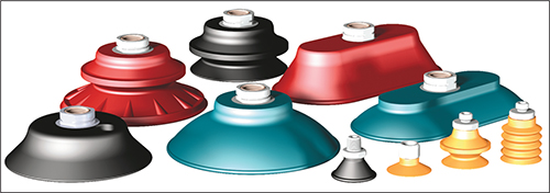 Variety of cup shapes, materials and hardness levels serve a variety of applications