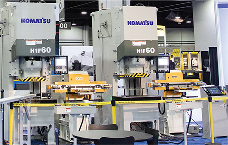 Komatsu H1F 60 single-point servomechanical presses