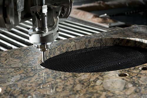 Articles - Waterjet Shines for Metals and More