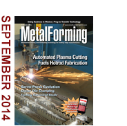 September 2014 MetalForming