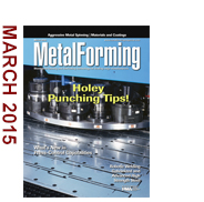 March 2015 MetalForming