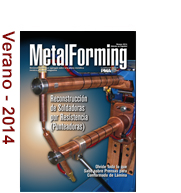 Cover of latest MetalForming Issue