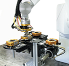 ATI tool changers and robots