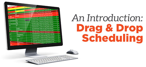 Learn how Drag & Drop scheduling can simply your the scheduling of your plant floor