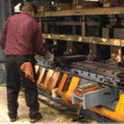 Conveyor for Scrap, Part Handling