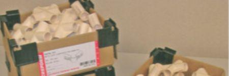 Corner Clips Improve Corrugated-Box Handling