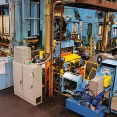 Muscle-Bound Coil Line Breathes New Life into Transfer Press