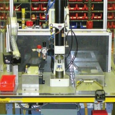 Light Curtains, Noncontact Buttons Protect Assembly Operators