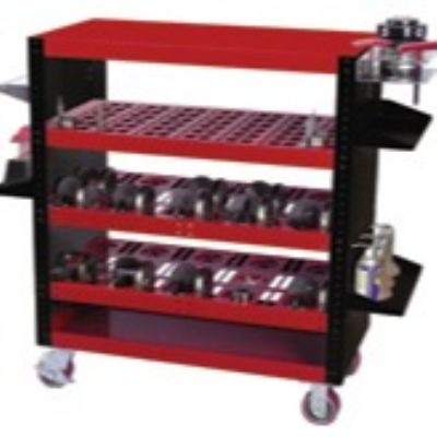 Carts Protect, Organize Punch-Press Tooling
