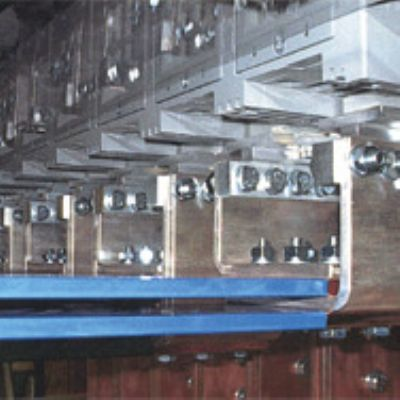 Automatic Line for Punching and Shearing of Flats