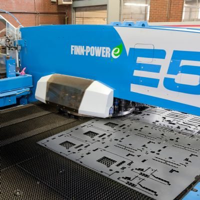 Servo-Electric Punching, Bending Fuels Productivit...