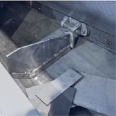 Stamping-Scrap Conveyor Redesigned for In-Floor Re...