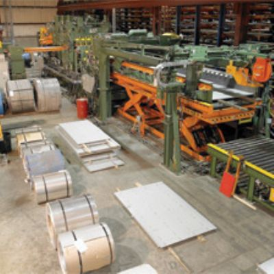 Stainless Supplier Fires Up New CTL Line