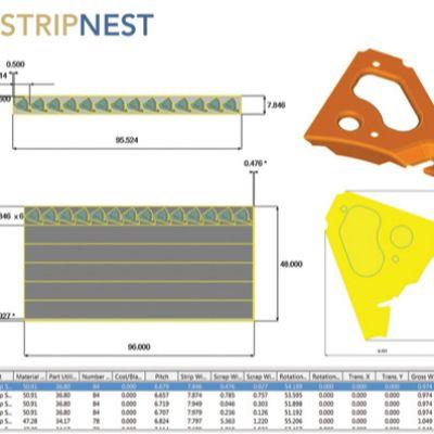 Enhanced Metalforming Software Tackles Blank Nesti...