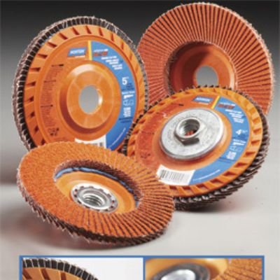 Quick Trim Flap Discs Reduce Labor and Material Costs