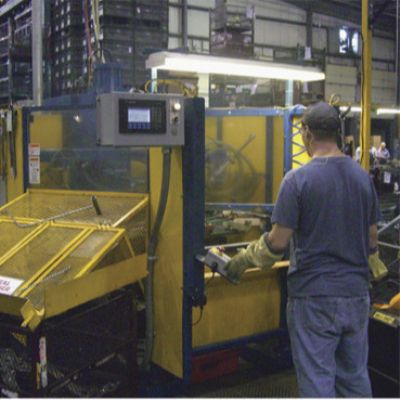 Stamper Sold on Three-Phase Mid-Frequency Resistance Welding