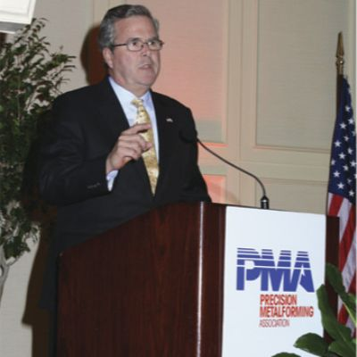 A Few Minutes with Jeb Bush on Education Reform