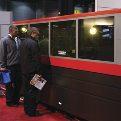 Fabtech Leads Metalformers to the Cutting Edge