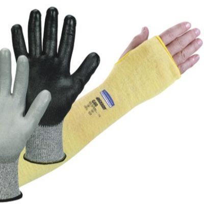Cut-Resistant Gloves and Sleeve